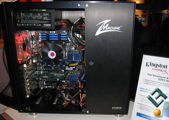 Intel DX58SO Motherboard With Kingston HyperX Memory
