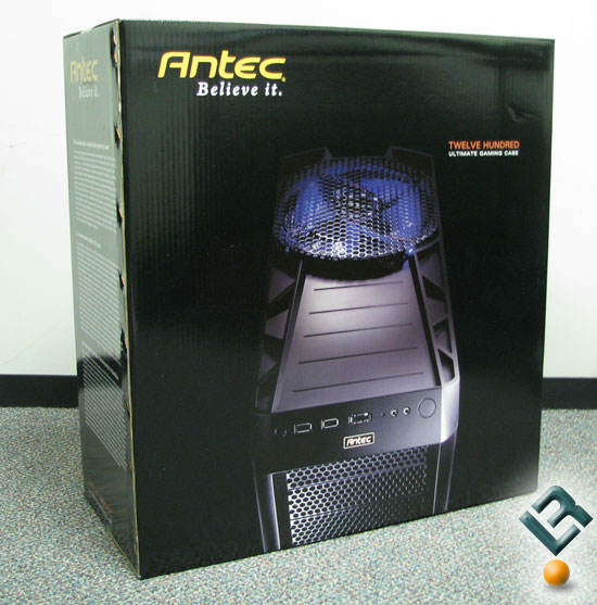 Box front for Antec Twelve Hundred
