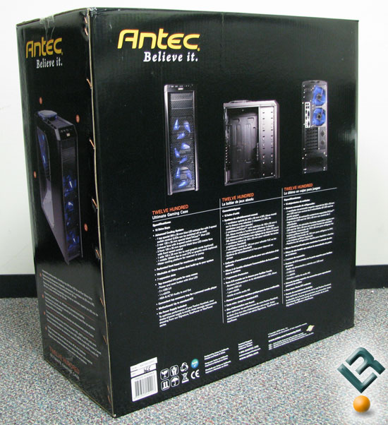 Box Rear Antec Twelve Hundred