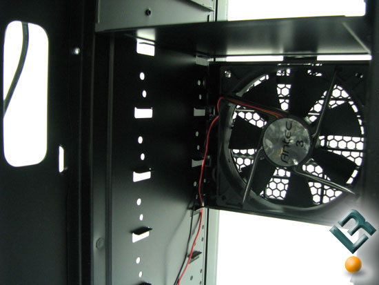 Antec Twelve Hundred optional fan mounting