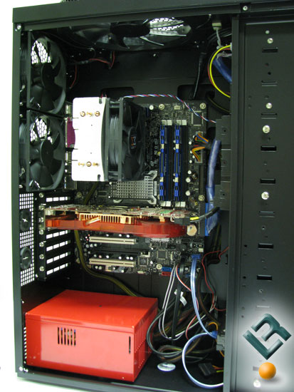Antec Twelve Hundred with a system installed