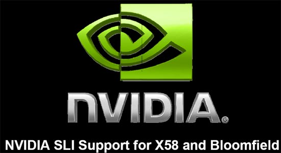 NVIDIA SLI on Intel X58 Slides