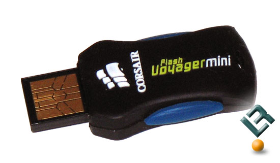 Corsair Voyager 4GB Mini USB Flash Drive