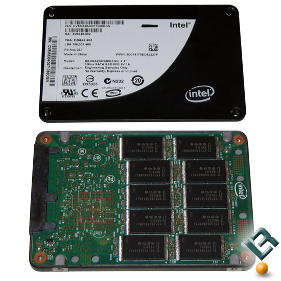 Intel X25-M Solid State Drive
