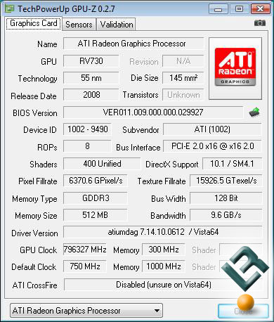 ATI Radeon HD 4670 Graphics Card