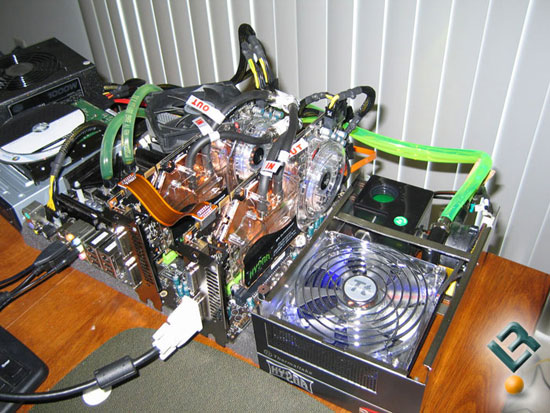 ECS GeForce 9800 GTX+ Hydra SLI Video Card Kit
