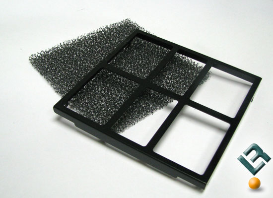 Lian Li PC-A7010 air intake filter screens