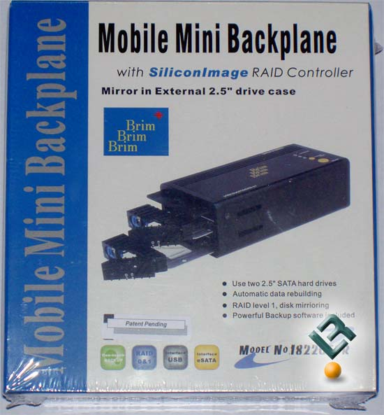 SunnyTek Mobile Mini Backplane Box