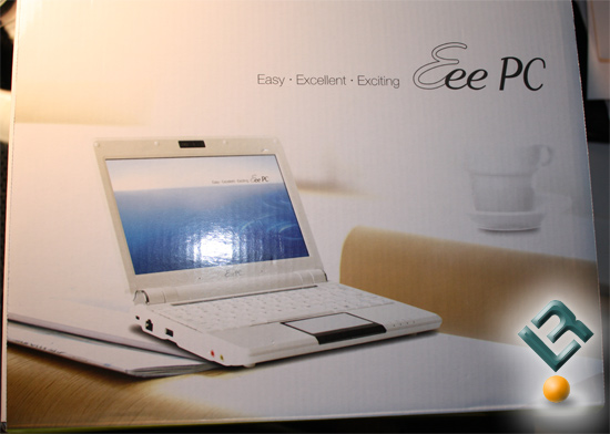 Asus EEE PC 1000HA Box