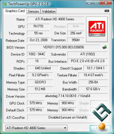 AMD Radeon HD 4830 BIOS