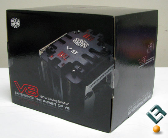 Cooler Master V8 CPU Cooler Box