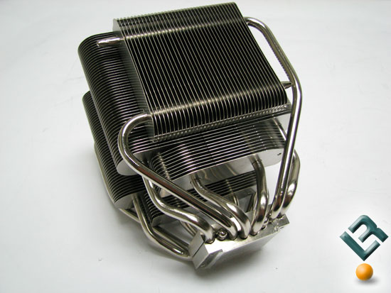 Heatpipe bends of the Cooler Master V8 CPU Cooler