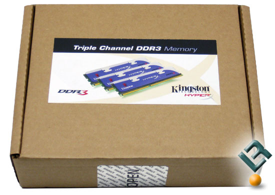 Kingston HyperX DDR3 2GHz Triple Channel Memory Kit