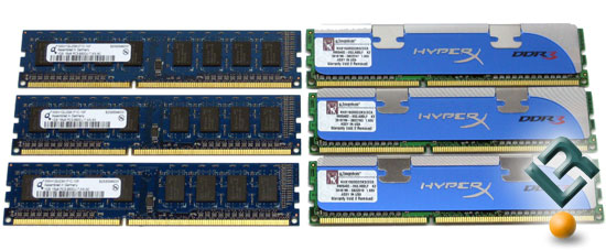 3GB Triple-Channel Test Kits