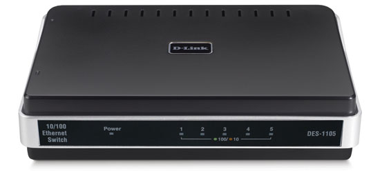 D-Link DES-1105 5 port 10/100 Switch
