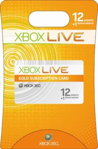 XBOX Live 12 Month Subscription