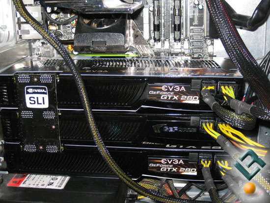 Cryostasis Benchmarking with Triple-SLI PhysX
