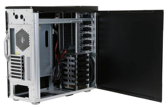 Side view of CM ATCS 840 case