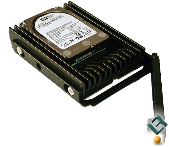 ATCS 840 HDD bay with drive