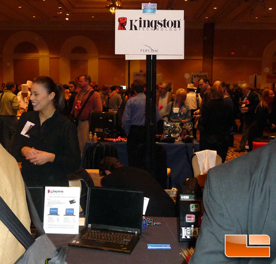 Kingston Pepcom Booth