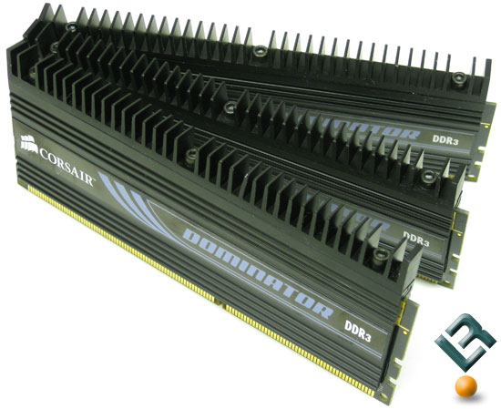 Corsair Dominator 6GB PC3-12800 DDR3 triple channel memory kit