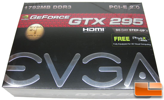 EVGA GeForce GTX 295 Retail Box Front