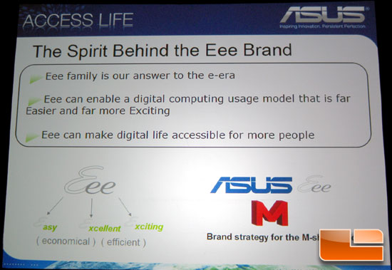 CES 2009: ASUS – Innovation Inspired by Consumers