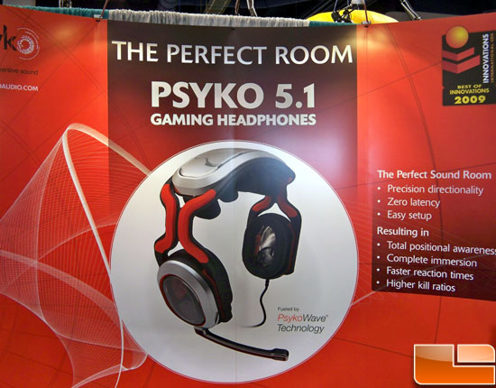 Psyko Gaming Headphones 5.1 Audio