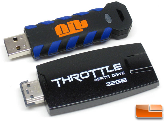 OCZ Throttle eSATA Flash Drive - 32GB