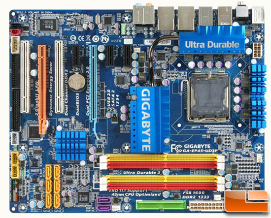 Gigabyte GA-EP45-UD3P Motherboard Review