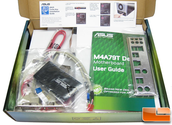 ASUS M4A79T Deluxe Motherboard Bundle