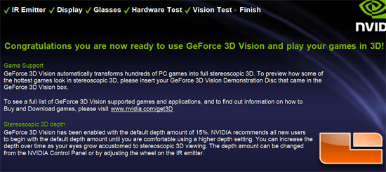NVIDIA GeForce 3D Vision Driver and Software Installation