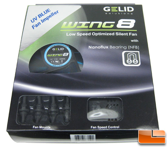 Gelid Solutions Wing 8 UV Case Fan Review