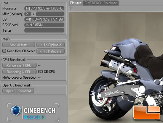 Cinebench Performance