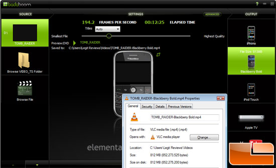 Babdaboom Media Converter v1.1.1 Finished