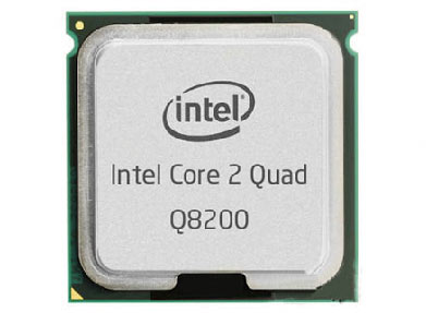 Intel Core 2 Quad Q8200 Processor Default Settings