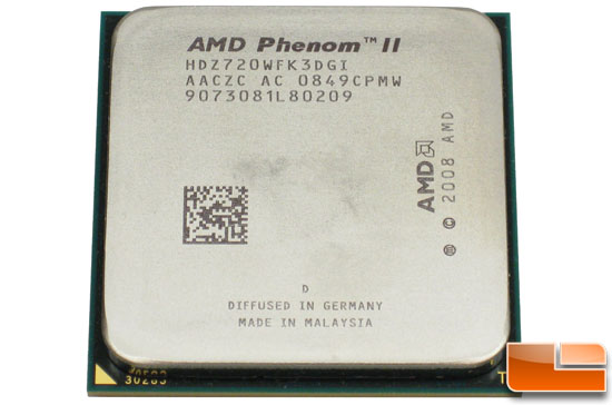 AMD Phenom II X3 720 Black Edition Processor