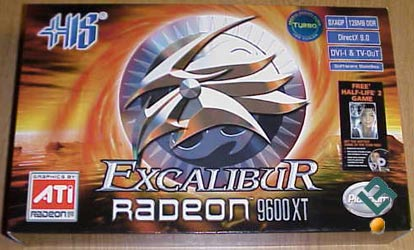 HIS Radeon 9600XT Video Card