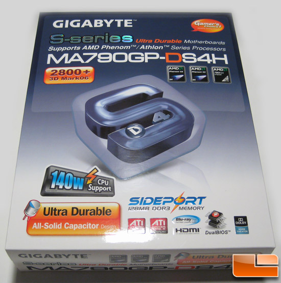 Gigabyte GA-MA790GP-DS4H Review