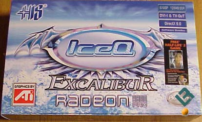 HIS Radeon 9800Pro IceQ Video Card