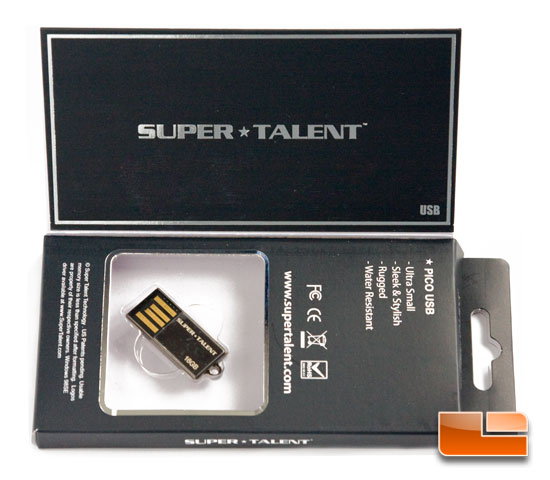 Super Talent Pico 16GB USB 2.0 Flash Drive