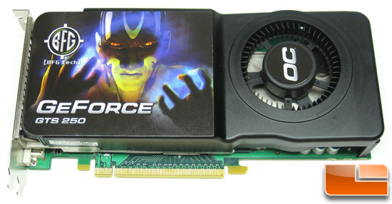 BFG Tech GeForce GTS 250 Video Card