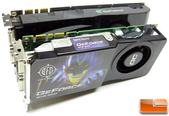 BFG Tech GeForce GTS 250 Specifications