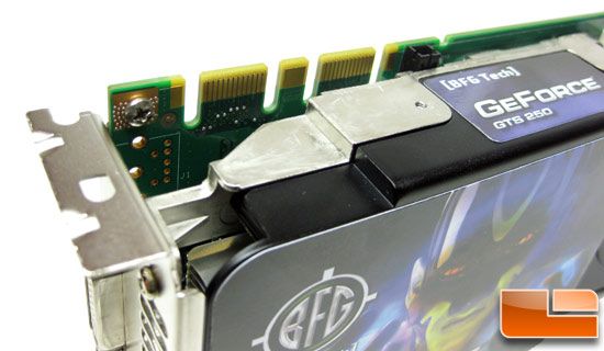 BFG Tech GeForce GTS 250 Video Card SLI Header