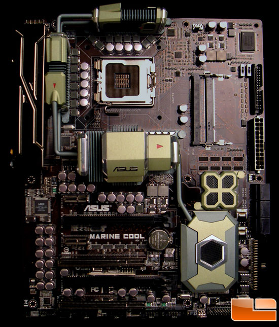 ASUS Marine Cool Concept Motherboard