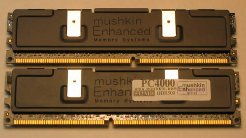 Mushkin 1GB PC4000 Dual Pack