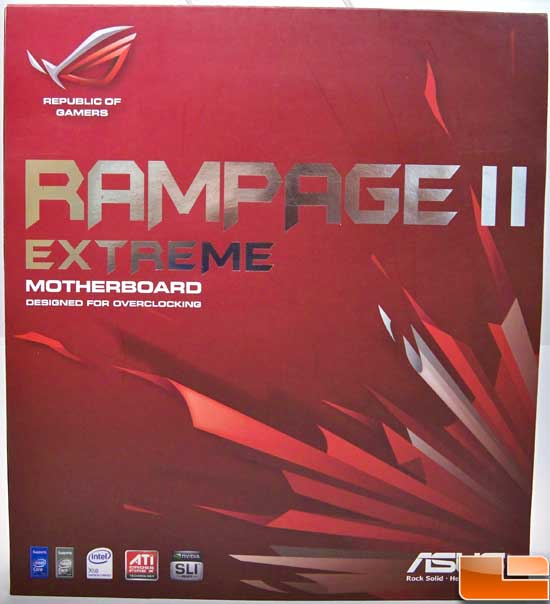 ASUS Rampage 2 Extreme Box Front