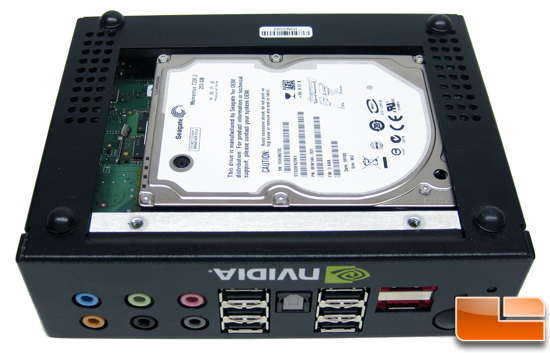 NVIDIA Ion PC Seagate Hard Drive