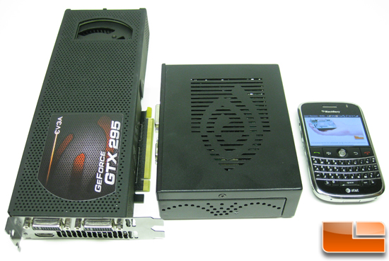 NVIDIA Ion with a GeForce GTX 295 and BlackBerry Bold