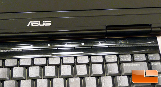ASUS N81Vp Notebook Hotkeys